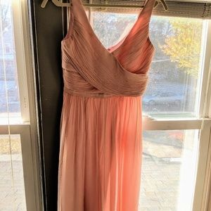 JCrew silk chiffon bridesmaid dress